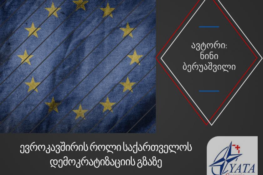 ევროკავშირის როლი საქართველოს დემოკრატიზაციის გზაზე